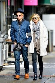 Gerard Darel coat and Krewe Du Optic sunglasses