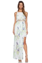 STRAPPY MAXI DRESS BCBGENERATION